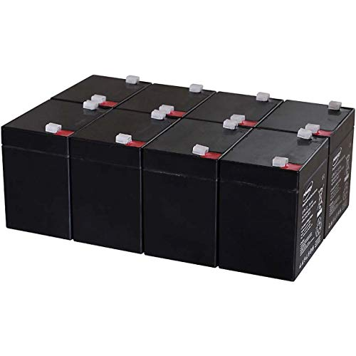 Powery Batería de Gel para SAI APC Smart-UPS XL Modular 3000 Montaje...