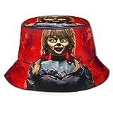 XBYC Annabelle Fisherman Beanie Black Sombrero de Pescador Talla única más Popular para Hombres y...