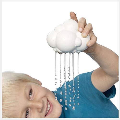 DEALBUHK Juguetes sensoriales, Nubes lluviosas Lindas Que juegan en los Juguetes de Agua Duchas de bebé y Flores de riego, Juguetes de Regalo de cumpleaños para niños