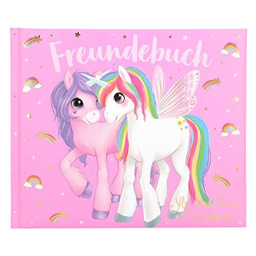Depesche 10573 Freundebuch Ylvi und die Minimoomis, pink, ca. 17 x 20,5 x 1,5 cm, bunt