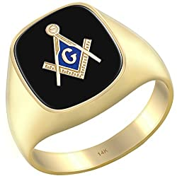 MASONIC RINGS GOLD