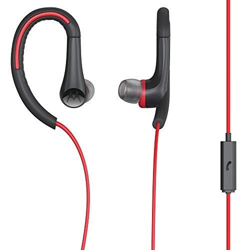 Fone de Ouvido Earbuds Sport, Intra-Auricular com Microfone, Motorola, SP008, Vermelho, Único