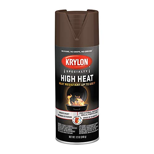 Krylon K01709077 High Heat Spray paint