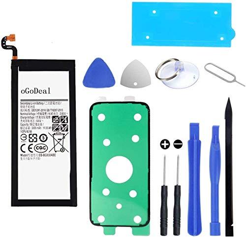oGoDeal Akku Kompatibel mit Samsung Galaxy S7 3000 mAh EB-BG930ABE G930 Akku-Ersatzkit (über 500 Zyklen) mit Reparaturwerkzeugen