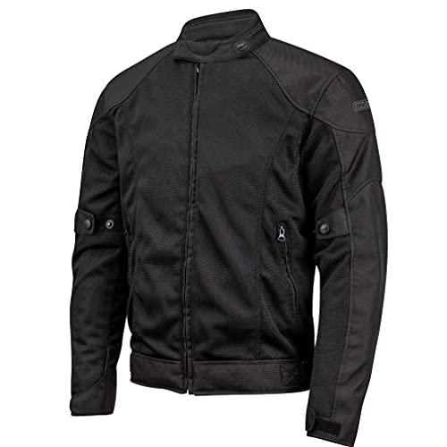 BSTAR Chaqueta Moto de Verano Lem VENTO 2 Negro para Hombre (52, l)