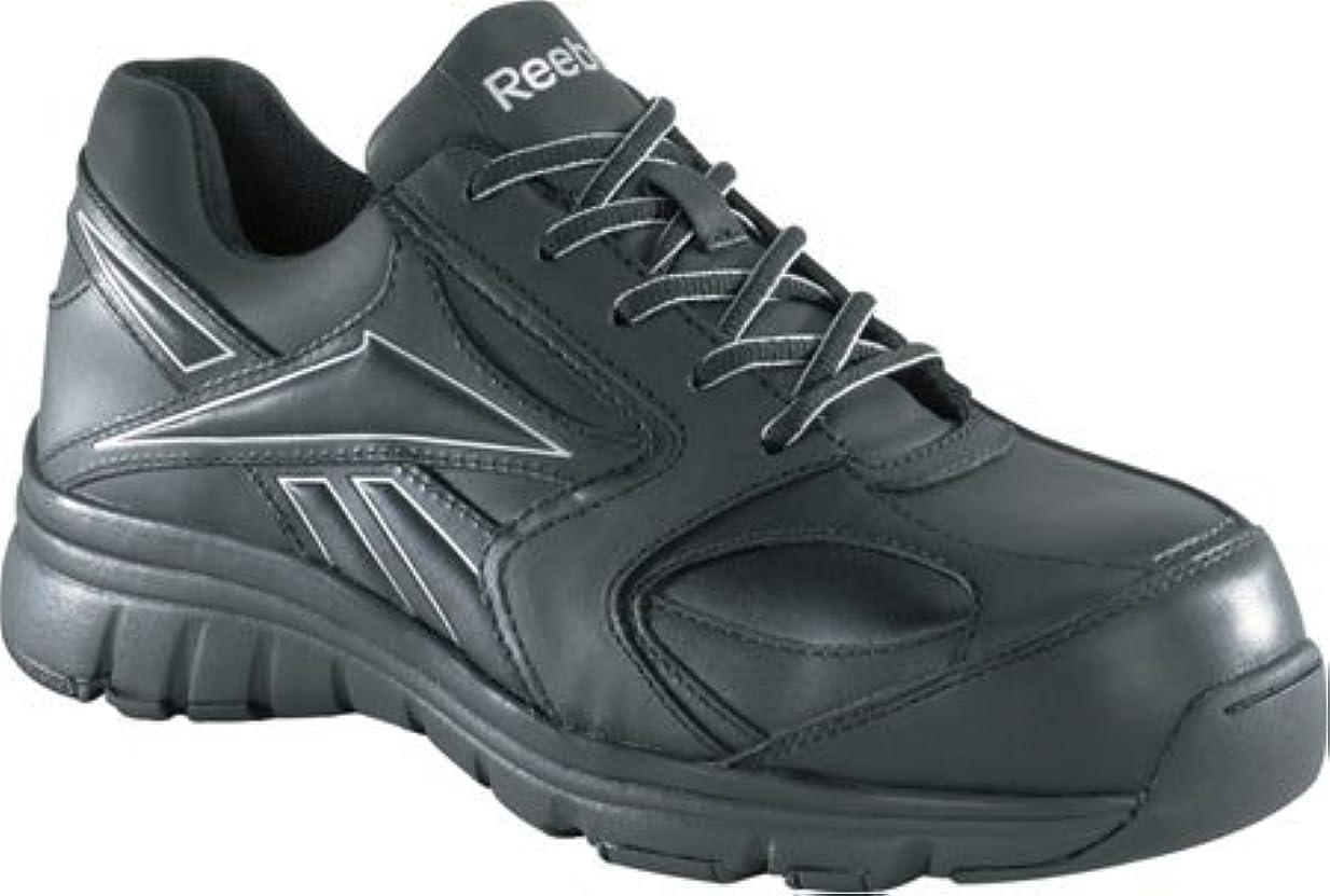 旋律的サイレントポンプrb449リーボックレディースクラシックパフォーマンス安全靴?–?ブラック