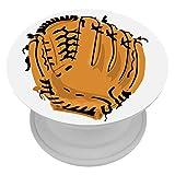 Xingruyun Gant de Baseball Téléphone Popper Grip Et Support pour Téléphones Et Tablettes 4x4cm