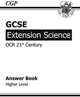 GCSE Extension Science OCR 21st Century Answers (for Workbook)