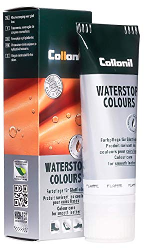 Collonil Waterstop Colours Schuhcreme flamme, 75 ml