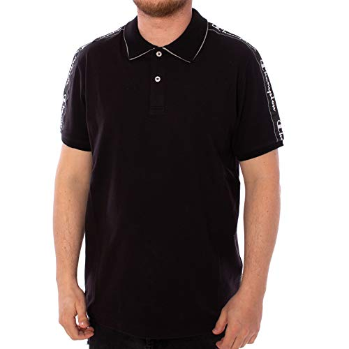 Champion Polo Shirt (M, Black)