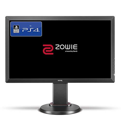 BenQ ZOWIE RL2460S 60,96 cm (24 Zoll) Konsolen e-Sports Monitor (offiziell lizensiert für PS4/PS4 Pro, Head-to-Head Setup, Höhenverstellung, Black eQualizer, Color Vibrance, 1ms Reaktionszeit) grau
