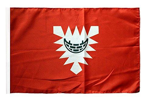 Flagge / Fahne Stadt Kiel + gratis Sticker, Flaggenfritze®