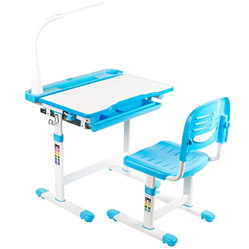 VIVO Height Adjustable Childrens Desk and Chair Set