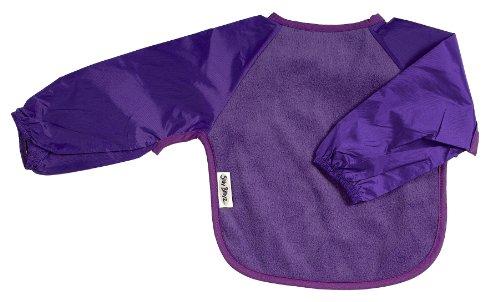Silly Billyz Bavoir - Manches Longues en Polaire - Violet - 6-24 mois