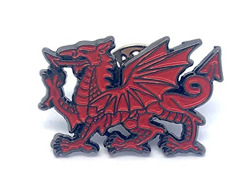 Patch Nation Walisischer Wales-Drache Metall Button Badge Pin Pins Anstecker Cosplay Brosche