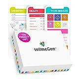 tellmeGen Test DNA Salute + Ancestry (Origini) | Il Test del DNA più completo (Malattie più importanti, Antenati, Compatibilità Medicinali, ecc.) | Include: Aggiornamenti a vita | +410 Rapporti