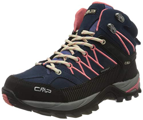 CMP – F.lli Campagnolo Damen Rigel Mid Wmn Shoe Wp Trekking-& Wanderstiefel, Blau (Blue-Flamingo 15ME), 42 EU