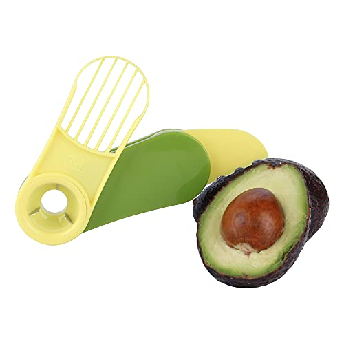 Vila KuChe 3-in-1 Avocadoschneider, Avocado-Entkerner, Obstschäler, Avocado-Schneider, Küchenhelfer, faltbares Picknick-Werkzeug