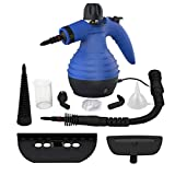 Comforday Handheld Pressurized Steam Cleaner- Multi Purpose Eco-Friendly Steamer with 9-Piece Accessories Steam Cleaning Machine for Stain Removal, Curtains, Car Seats,Floor,Window