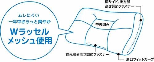 京都西川『頸椎支持型高さ自在枕』