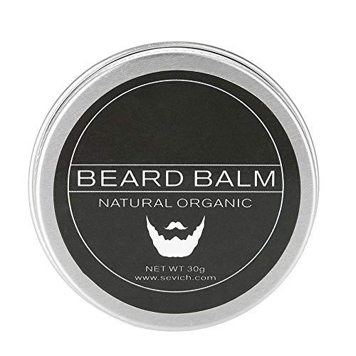 Bálsamo para barba, 30 g Bálsamo para el cuidado de la barba para hombre Cera hidratante para el cuidado del afeitado