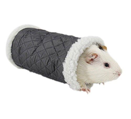Demarkt Hamster Nest Schlafsack Kleine Haustier Sanal-Spielzeug grau