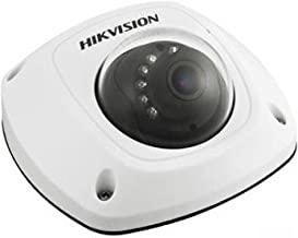 Hikvision DS-2CD2512F-IS (4MM) Outdoor IP Mini Dome Camera, 1.3MP/720P, H.264, 4 mm Lens, Day/Night, Alarm I/O, IR to 10M