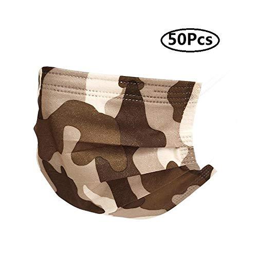 Honmao - Juego de 50 piezas de camuflaje para adultos, transpirable, 3...