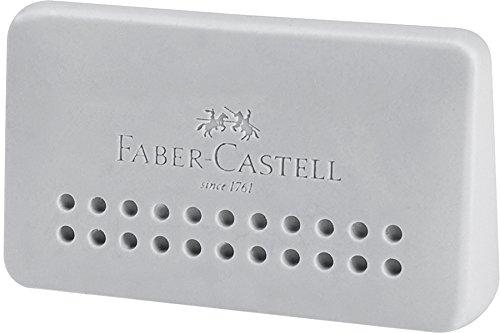 Faber-Castell 10011537 Gomme Grip 2001 Edge Gris