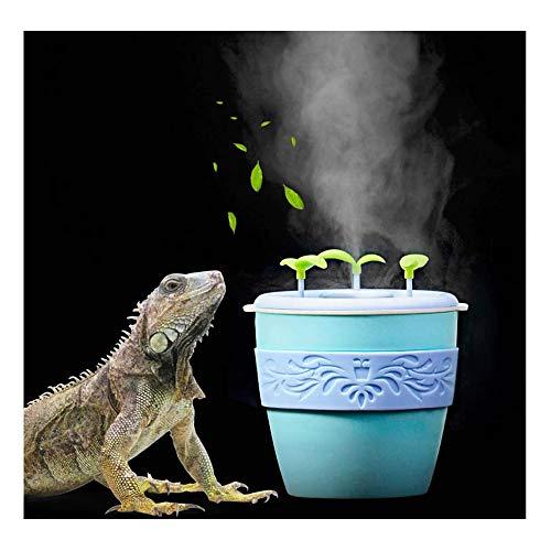 Reptile Luftbefeuchter Mini Zerstäuber kein Lärm kühlen Nebel, der Maschine Amphibien verwendet für Schildkröten Schlangen Eidechse Gecko Spinnen-Crawler Negative Ionen-Luftbefeuchter