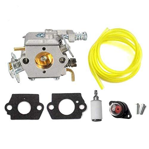 AISEN Carburateur pour Partner 350 351 370 371 390 420 McCulloch Mac 333 335 338 435 Walbro WT-600 WT-624 WT-625 WT-637 WT-662