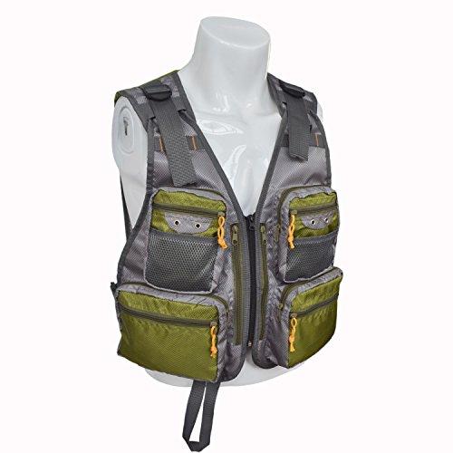 MDSTOP Fly Fishing Vest, Adjustable