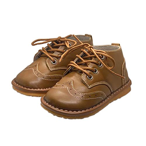 Squeaker Sneakers Wynn Wing Tip Boot, Squeaker Sneakers Squeaky Shoes For Toddlers With Removable Squeaker (4)