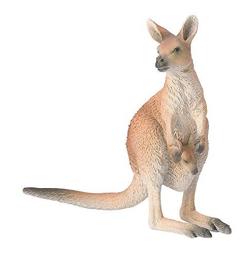 Bullyland 63565 - Spielfigur, Känguru, ca. 12,3 cm
