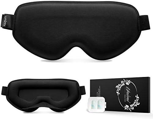 Unimi Sleep Mask No Pressure 3D Eye Mask Women Men Contoured Cup Breathable Sleeping Eye Mask product image