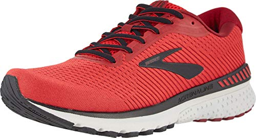 Brooks Herren Adrenaline Gts 20 Laufschuhe, Rot (Red/Black/Grey), 48.5 EU