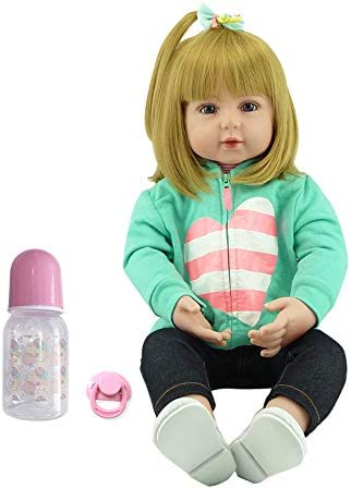 iCradle Real Life Memphis Mall Reborn Baby Girl inch Soft Topics on TV Silico 55cm Doll 22