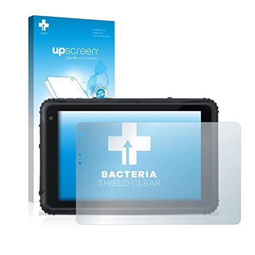 upscreen Antibakterielle Schutzfolie kompatibel mit Caterpillar Cat T20 klare Bildschirmschutz-Folie