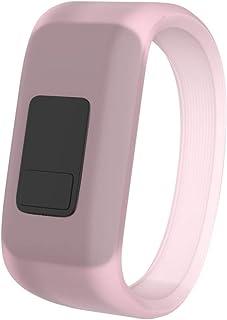 CapsA Luminous Silicon Replacement Watch Strap for Kids Wristband Watch Band Strap Pull Buckle Compatible Garmin Vivofit 3 Vivofit JR Vivofit JR2 Small