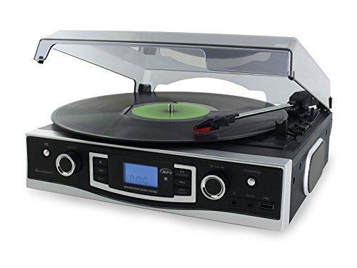Soundmaster PL530USB Platine vinyle USB enregistrement MP3