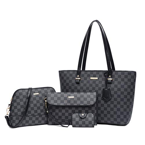 4 PC Women Fashion Handbags Bag $29.99 (40% Off with code)