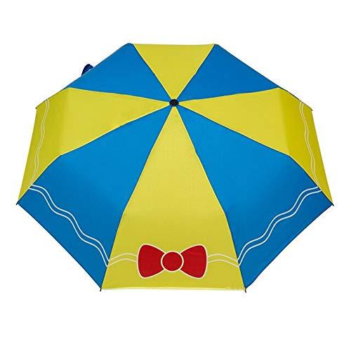 NJSDDB paraplu Spiderman, Optimus, Pokemon print paraplu voor jongen kind cartoon vouwen paraplu kind zonwering meisje regengereedschap YS056, Paars