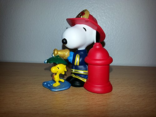 Firefighter Snoopy 12th in Series 2009 Hallmark Ornament