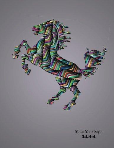 Make Your Style Sketchbook: Horse Sketchbook Volume 5 (Blank Paper for Drawing) - Practice Drawing,