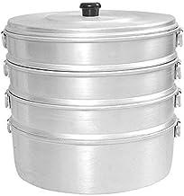 Aluminium Momos Steamer Size Medium No. 11 steaming Pot / 4.750 Ltr Capacity/Aluminum 4 Tier Steam Cooking/Boiled Food Coo...