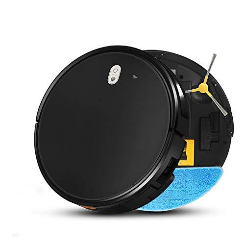 Angle-w Robot de limpieza de alfombras sin ruido, de carga automática, de barrido de navegación húmeda, robot de aspiración, sin ruido (color: X520, tamaño: AU)