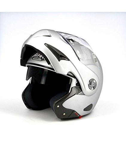 Airoh Helm Mathisse RS X Color grau matt, TG. XL