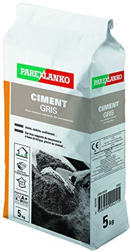 Parexlanko, Ciment Gris, Ciment pour scellements, joints et enduits, 5kg