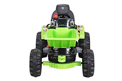 RC Auto kaufen Kinderauto Bild 6: Actionbikes Motors Kinder Radlader JS328C 2 x 25 Watt Motor Elektro Lader Kinderauto Kinderfahrzeug Spielzeug für Kinder Kinderspielzeug (Grün)*