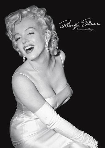1art1 31910 Marilyn Monroe - Loved By You Poster (91 x 61 cm)
